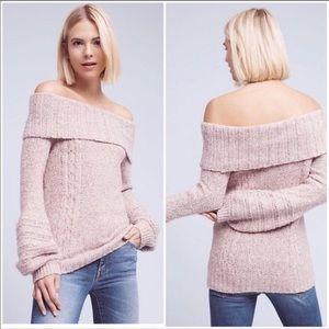 Sleeping On Snow Ivory Cowl Neck Sweater Medium